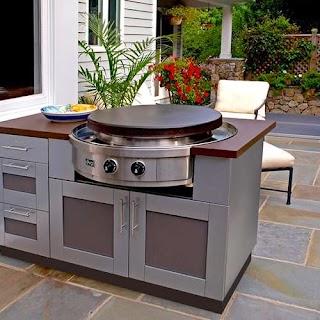 Outdoor Kitchen Flat Top Grill Evo America S Jack Wills
