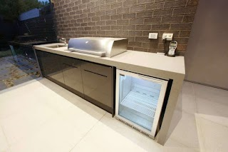 Outdoor Bbq Kitchen Cabinets Awesome Barbecue with Counter Wrapping