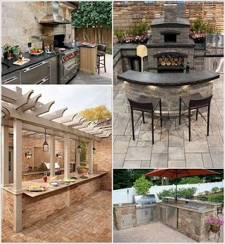 Outdoor Bbq Kitchen Designs 29 Awesome Barbecue Ideas