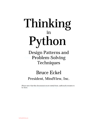 Thinking in Python-Design Patterns and Problem-Solving Techniques .pdf