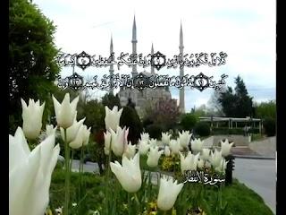 Sure  Al-Infitaar <br>(The Cleaving) - şeyh / Mahmoud AlHosary -