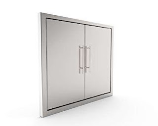 Stainless Doors for Outdoor Kitchens Amazoncom Bbq Grill Access Doorelegant 31 inch 304 Grade