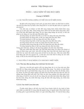 Nhiệt Điện - Pgs. Ts. Hoàng Ngọc Đồng, 140 Trang.pdf