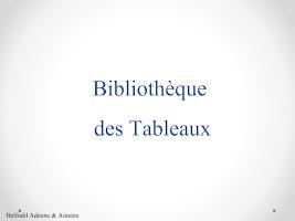 Bibiliothèque-Tableau.ppsx