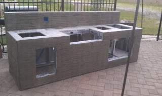 Outdoor Kitchen Forum My Parents Build S Baths Contractor Talk