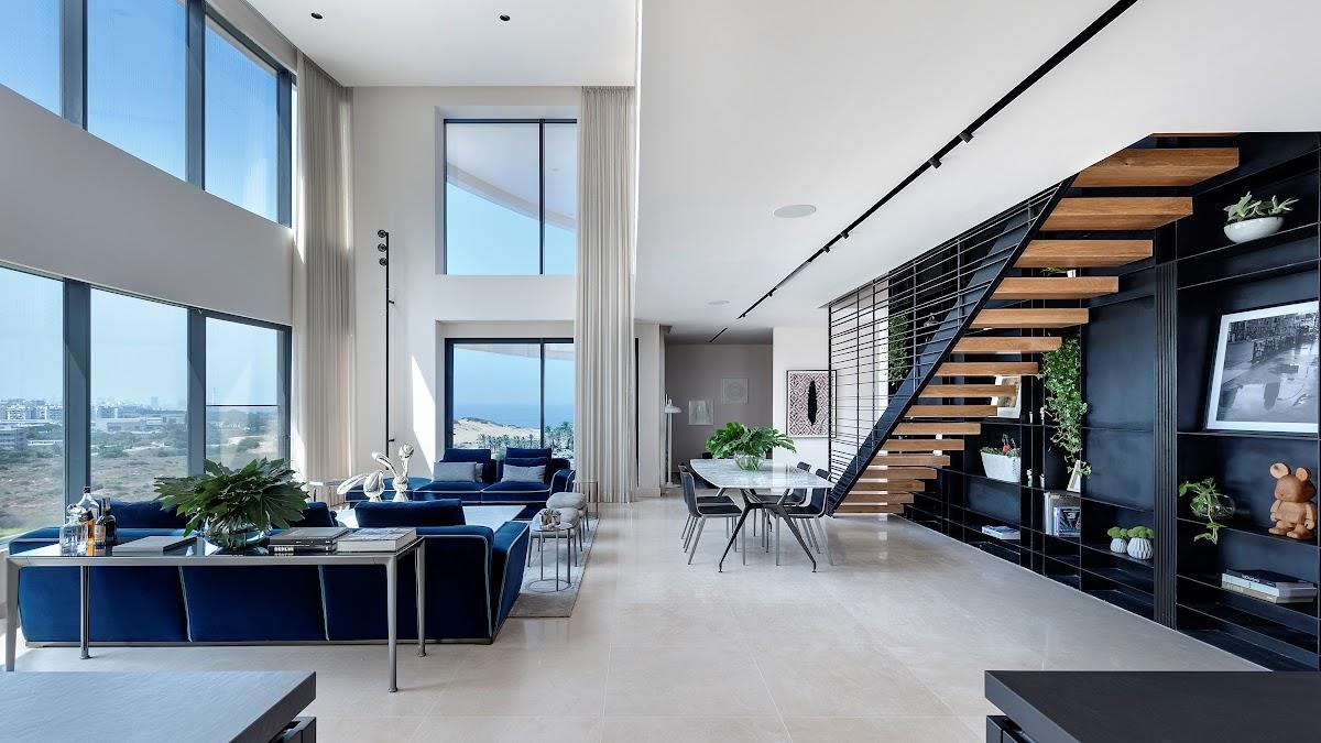 """להשכרה דירת דופלקס יוקרתית במתחם ה """"BLUE"""""""