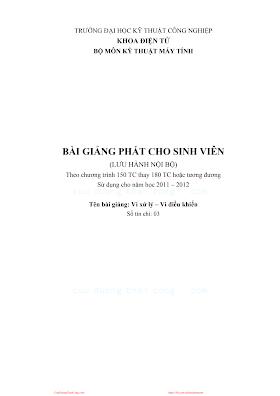 ĐHCN.Vi Xử Lý-Vi Điều Khiển - Pgs.Ts.Nguyễn Hữu Công, 222 Trang.pdf