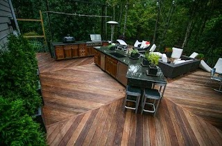 How to Build a Outdoor Kitchen Cbinets