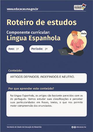 ARTIGOS DEFINIDOS, INDEFINIDOS E NEUTROS