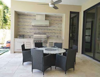 Outdoor Kitchen Orlando Countertops Adp Surfaces