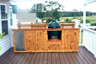 How to Build Outdoor Bbq Kitchen an Plans Plans Design