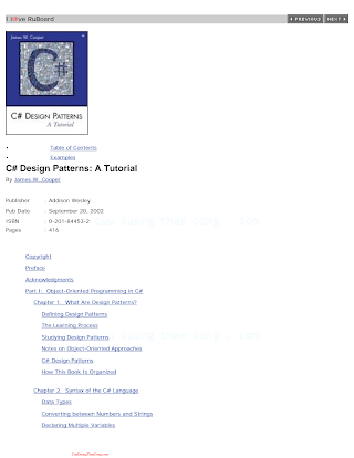 C# Design Patterns - A Tutorial By James W. Cooper.pdf