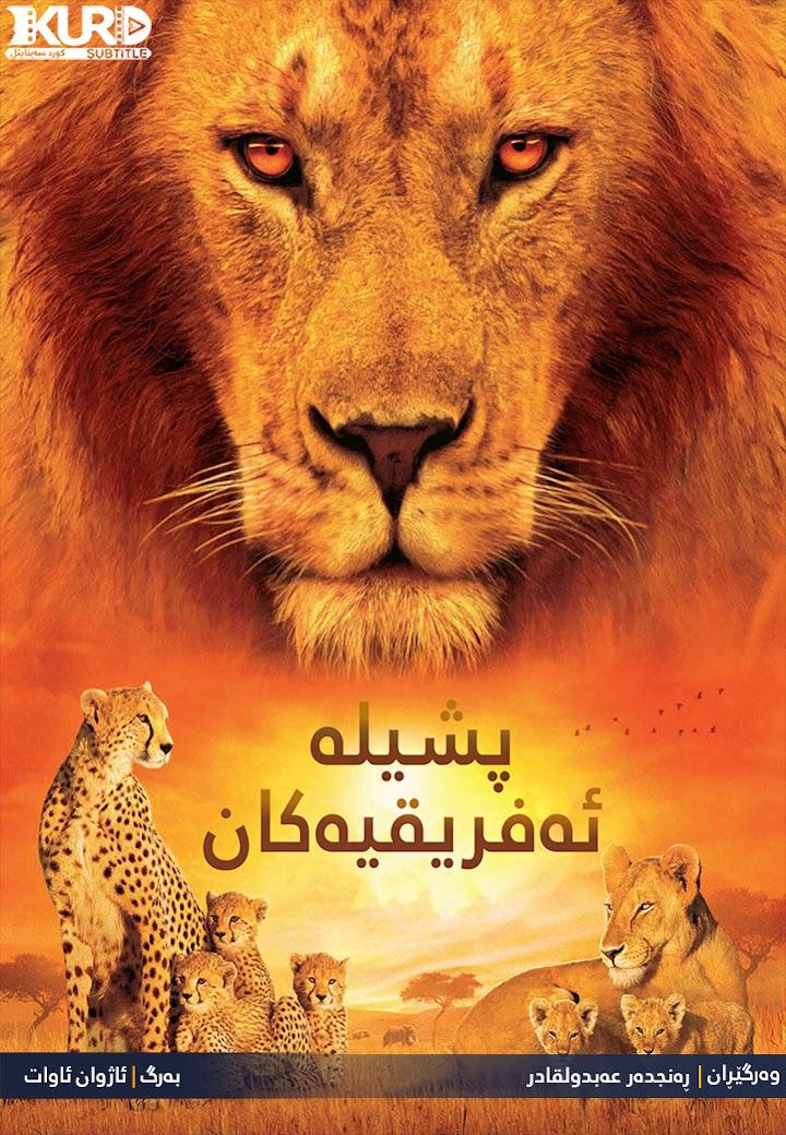 African Cats kurdish poster