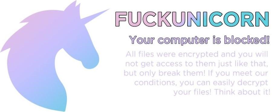 FUCKUNICORN ransomware