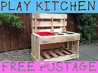 Outdoor Toy Kitchen Mud Collection on Ebay