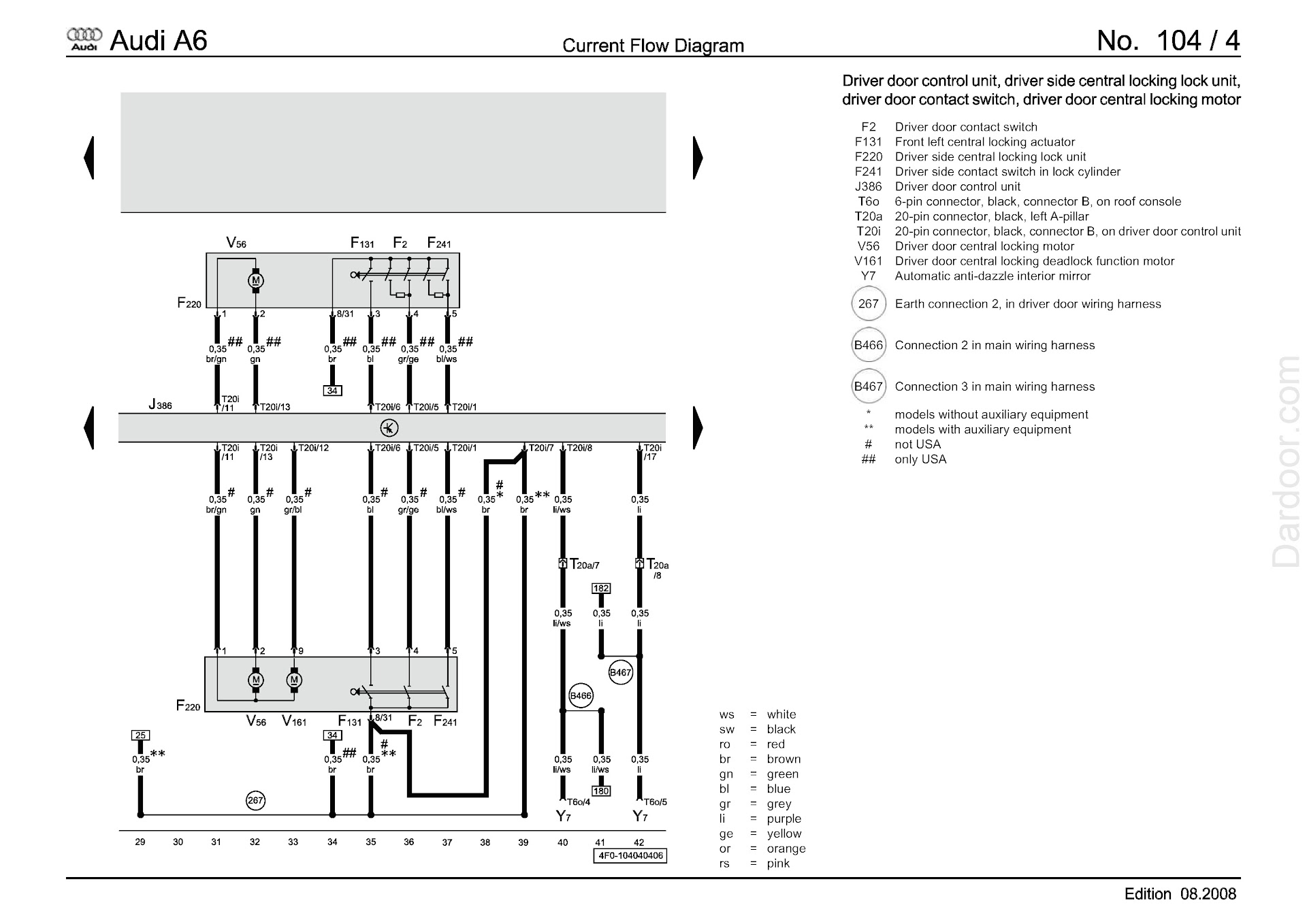 Download 2005-2011 Audi A6 Repair Manual