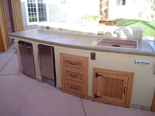 Outdoor Kitchen Doors and Drawers Locking Cabinet Discount S Pantry