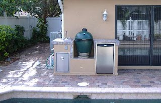 Outdoor Kitchen Big Green Egg S for Your
