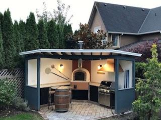 Outdoor Pizza Kitchen Brick Ovens Brick Oven Grillsn Ovens