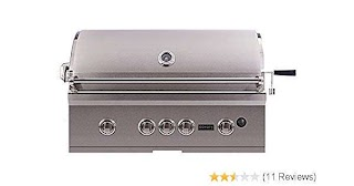 Outdoor Kitchen Grills Reviews Amazoncom Coyote Cs36ng Sseries Grill 36inch Garden