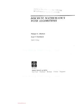 0471849022 {BB3611F0} Discrete Mathematics with Algorithms [Albertson _ Hutchinson 1988-07-22].pdf