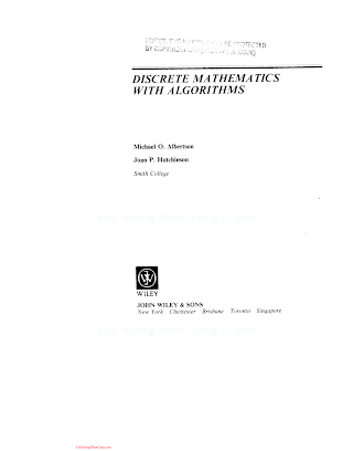 0471849022 {BB3611F0} Discrete Mathematics with Algorithms [Albertson _ Hutchinson 1988-07-22].pdf