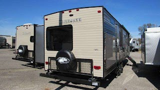 Travel Trailer with Outdoor Kitchen 2019 Cherokee 294bh Bunkhouse