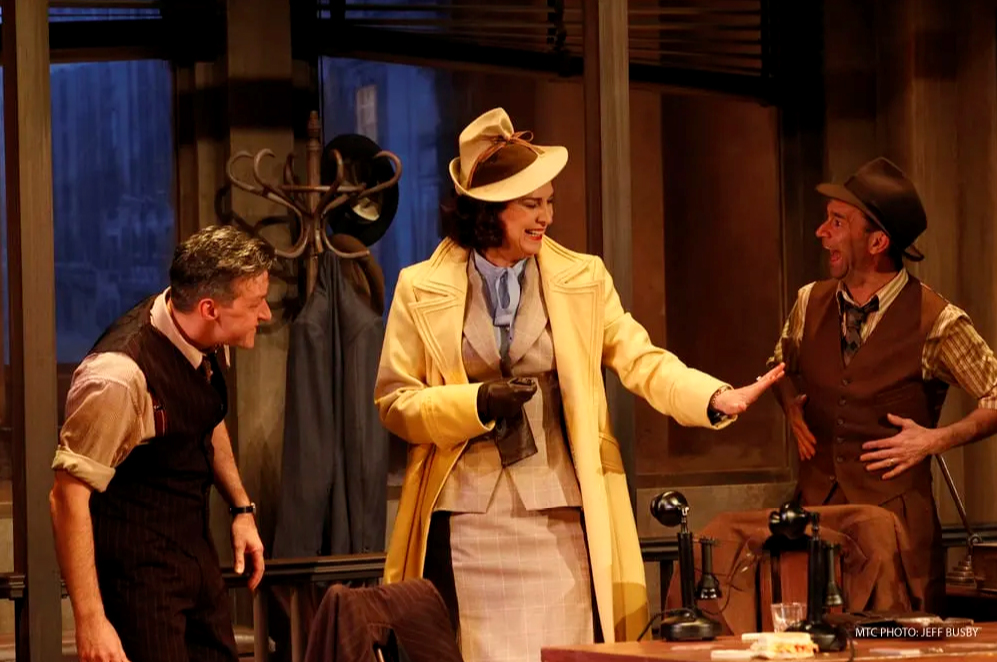Pamela Rabe | His Girl Friday | Photo by Jeff Busby