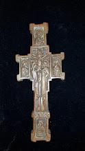 Cruce din lemn sculptat Athos - 27 - poza 2 - Galeria Anton