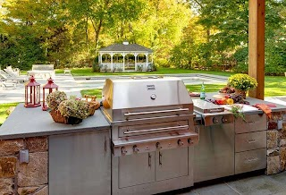 Outdoor Kitchen Design Center S Kalamazoo Gourmet