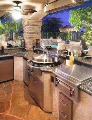 Amazing Outdoor Kitchens 30 Kitchen Ideas Grilling Cucine Di
