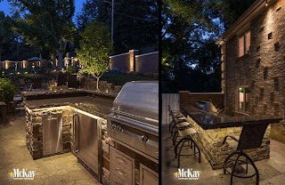 Lighting for Outdoor Kitchen Grill Ideas