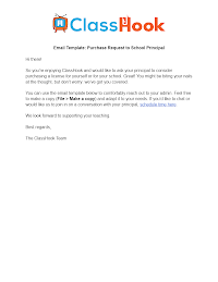Purchase Request to Principal