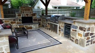 San Antonio Outdoor Kitchens Fireplaces Pizza Ovens