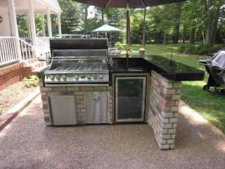 Compact Outdoor Kitchen Patio Home S in 2019