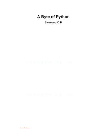 A Byte of Python.pdf