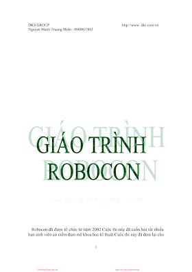 Giáo Trình Robocon - Nguyễn Mạnh Trường, 70 Trang.pdf