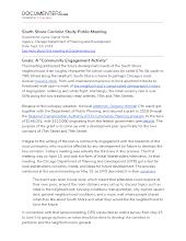 South Shore Corridor Study Public Meeting
