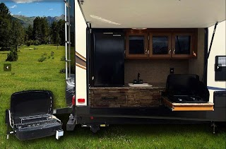 Travel Trailers with Bunks and Outdoor Kitchen 10 Amazing Rvs Entertaining S