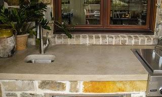 Limestone Outdoor Kitchen 5sc Indiana Countertop in Tracerystonecom