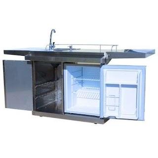 Outdoor Kitchen Beverage Center Cooking Okc158 Cart