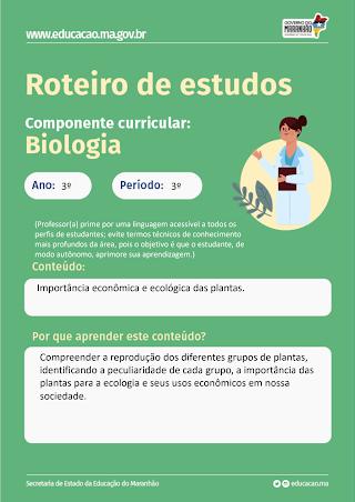 IMPORTANCIA ECONOMICA E ECOLOGICA DO REINO- VEGETAL