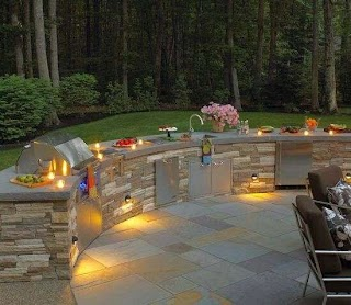 How to Make an Outdoor Kitchen 16 Amazing Ideas Functional