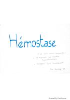Hémostase resumé.pdf