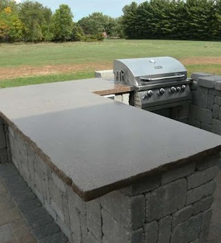 Outdoor Kitchen Counter Tops Top Appleton Appleton