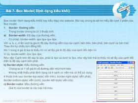 CSS- Bài 7 - Box model.pdf