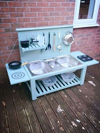 Kids Outdoor Kitchen Five Cheap Diys that Will Make Your Backyard an Awesome Play Space