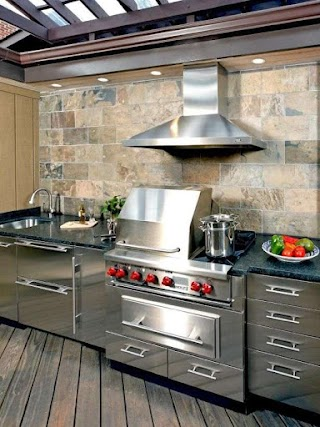 Outdoor Stainless Steel Kitchen Love The Commercial Products