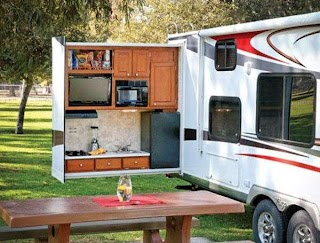 Travel Trailers with Bunks and Outdoor Kitchen Camper Trailer Amazing