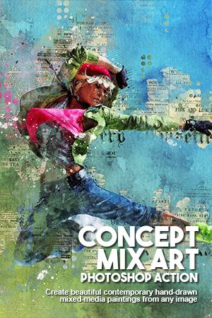 concept mix art